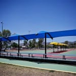 tennis shade sails