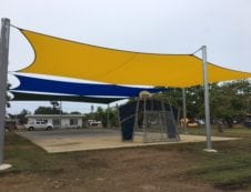 Some of our shade structures built in Townsville